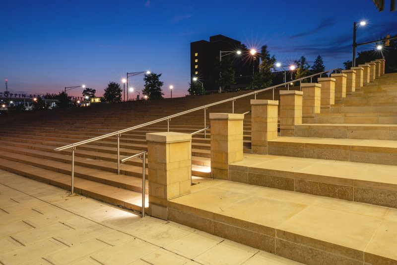 Coppin State University steps